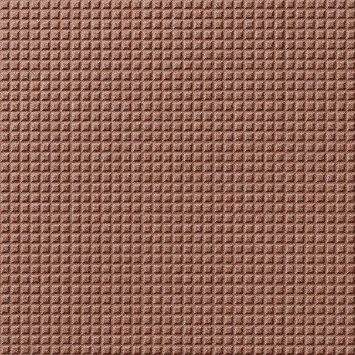 10' Wide x 4' Long Square 5 Pattern Argent Copper Finish Thermoplastic Flexlam Wall Panel