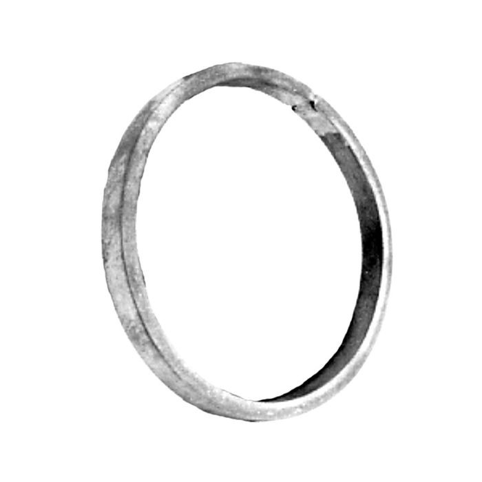 "1/2"" x 1/4"" x 3-15/16"" Dia Wrought Iron Rings(Smooth)"