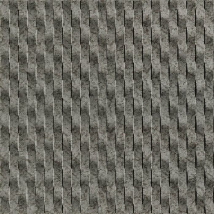 10' Wide x 4' Long Weave Pattern Galvanized Vertical Finish Thermoplastic Flexlam Wall Panel