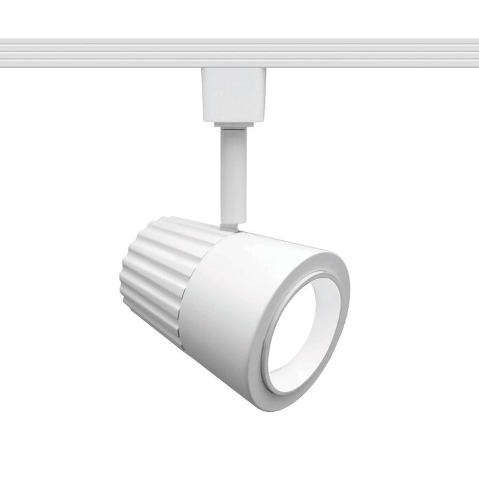 Summit 201 Led Track Lighting Head Warm White 3000k 15 Watts 750 Lumens Per Fixture Etl 120v In A White Finish