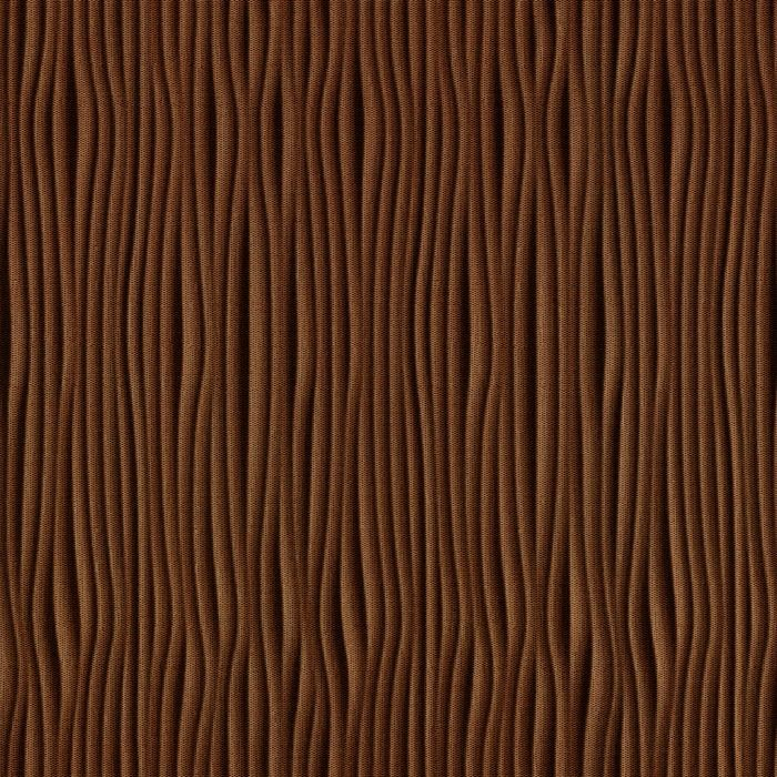 10' Wide x 4' Long Gobi Pattern Linen Chocolate Vertical Finish Thermoplastic Flexlam Wall Panel