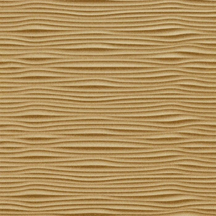 10' Wide x 4' Long Gobi Pattern Argent Gold Finish Thermoplastic Flexlam Wall Panel