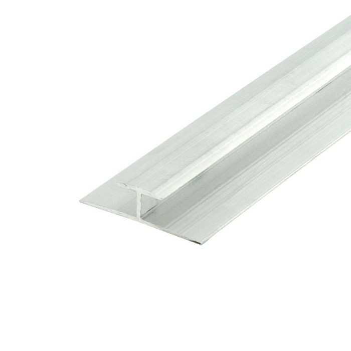 1/4in to 9/32in Mill Finish | Aluminum Divider Moulding | 12ft Length