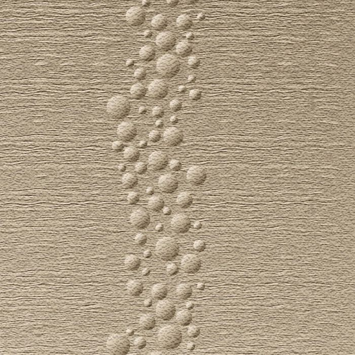 10' Wide x 4' Long Cascade Pattern Eccoflex Tan Finish Thermoplastic Flexlam Wall Panel