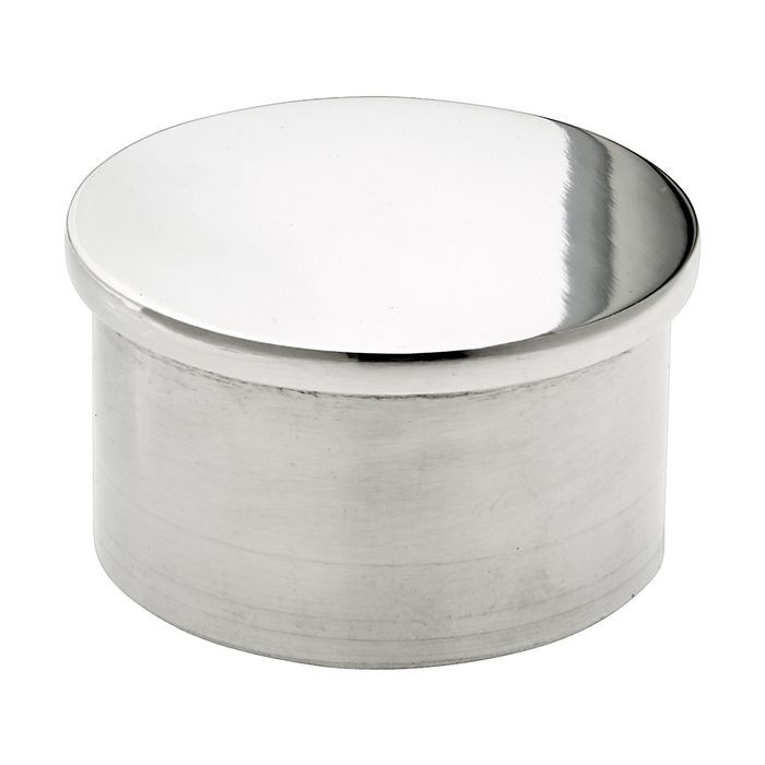1-1/2in Dia | Polished Stainless Steel Finish | End Caps | S82-222 Series
