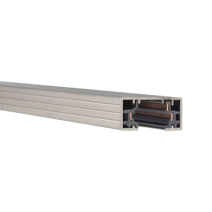 WAC 120V LED Track Light Track 8' in a Brushed Nickel Finish