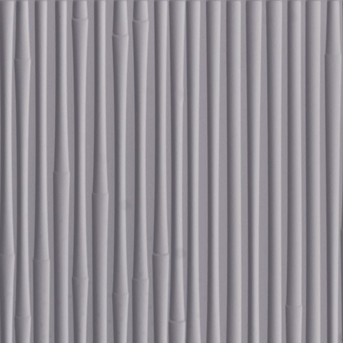 FlexLam 3D Wall Panel | 4ft W x 10ft H | Bamboo Pattern | Lavender Finish
