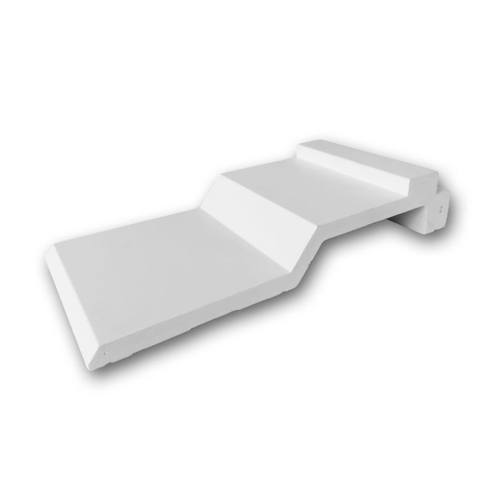 Orac Decor | High Density Polyurethane Crown Moulding | Primed White | 4in Sample Piece