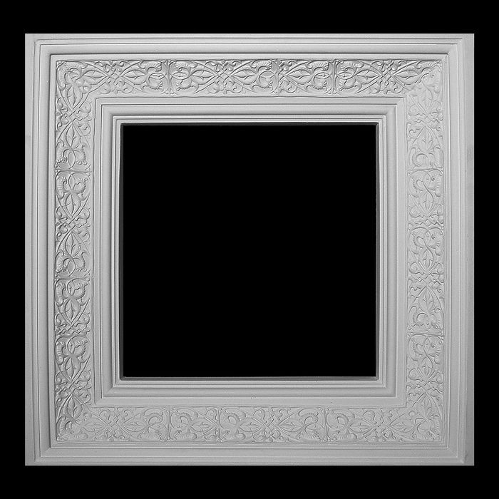Resin Artisan Collection Ceiling Tile | 27in Sq x 6in Deep