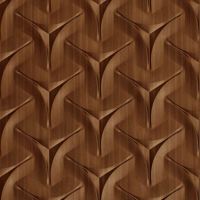 FlexLam 3D Wall Panel | 4ft W x 10ft H | Japanease Weave Pattern | Smoked Pewter Finish