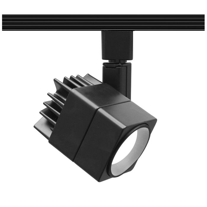 Summit 207 LED Track Lighting Head Warm White 3000K 15 Watts | 750 Lumens Per Fixture ETL 120V in a Black Finish