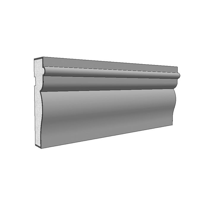 "10"" High x 2-1/2"" Deep American Series Acrocore EPS Water Table Moulding 8' Length"