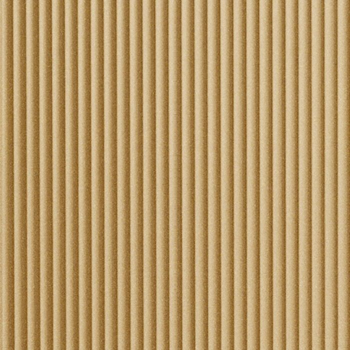 10' Wide x 4' Long Rib2 Pattern Argent Gold Finish Thermoplastic Flexlam Wall Panel