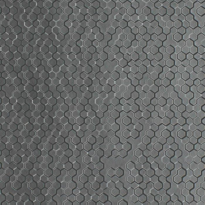10' Wide x 4' Long Beehive Pattern Diamond Brushed Finish Thermoplastic Flexlam Wall Panel