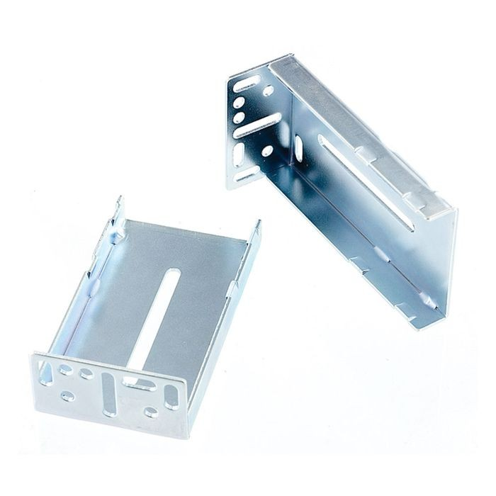 Zinc Finish Metal Rear Mounting Bracket