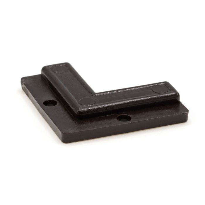 1/8in Brown | No-Route Panel and Glass Retaining Corner