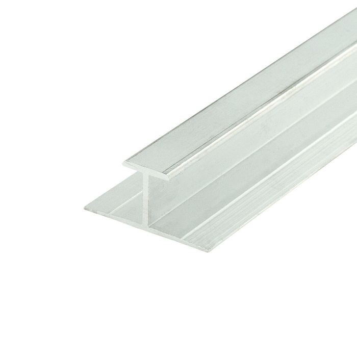 1/2in Mill Finish | Aluminum Divider Moulding | 12ft Length