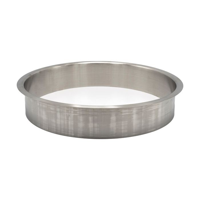 "10"" Diameter x 2"" High 304 Stainless Steel Trash Liner"