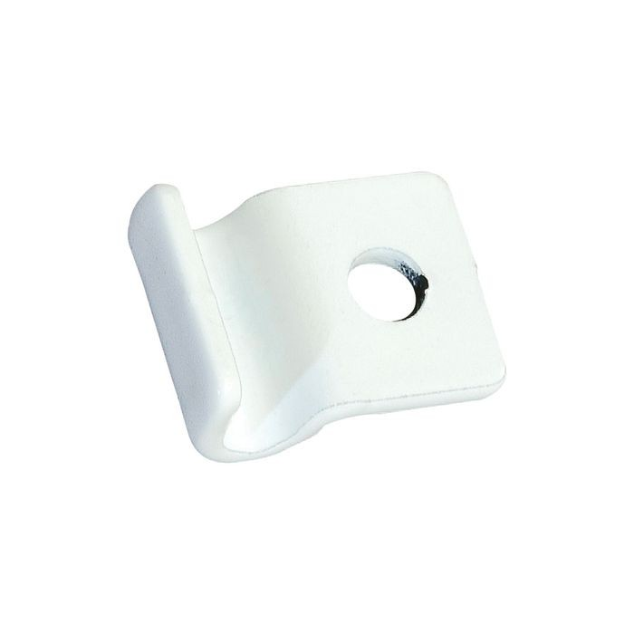White Flush Mounting Clip For Grid