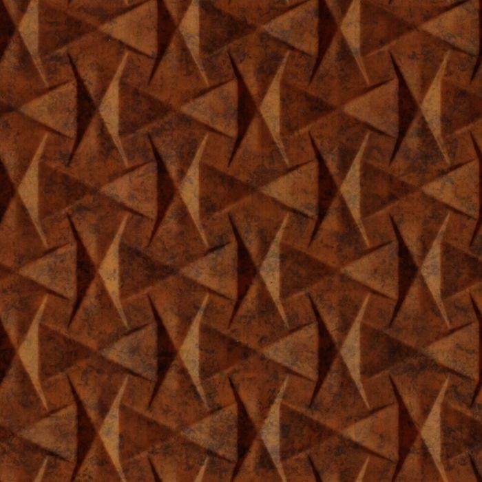 10' Wide x 4' Long Bowtie Pattern Moonstone Copper Finish Thermoplastic Flexlam Wall Panel