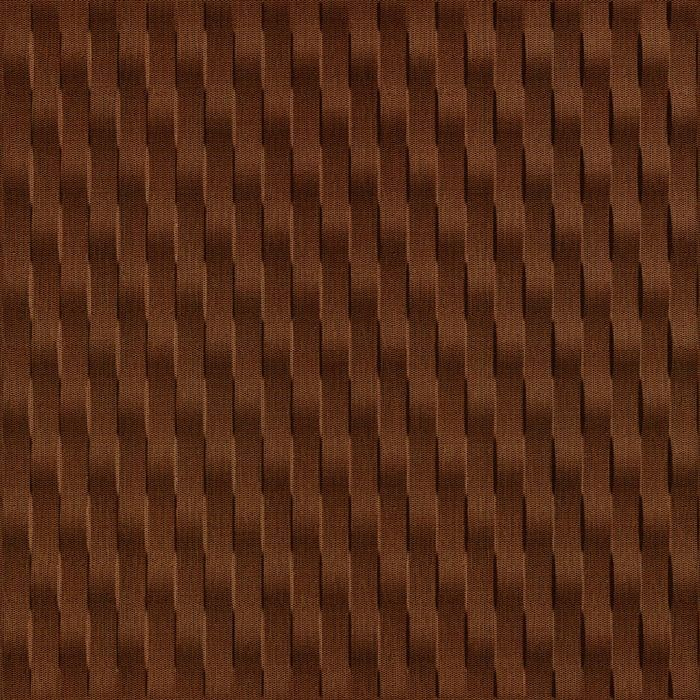10' Wide x 4' Long Weave Pattern Linen Chocolate Vertical Finish Thermoplastic Flexlam Wall Panel