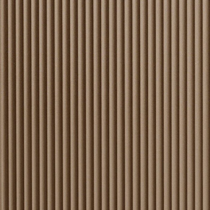 10' Wide x 4' Long Rib2 Pattern Argent Bronze Finish Thermoplastic Flexlam Wall Panel