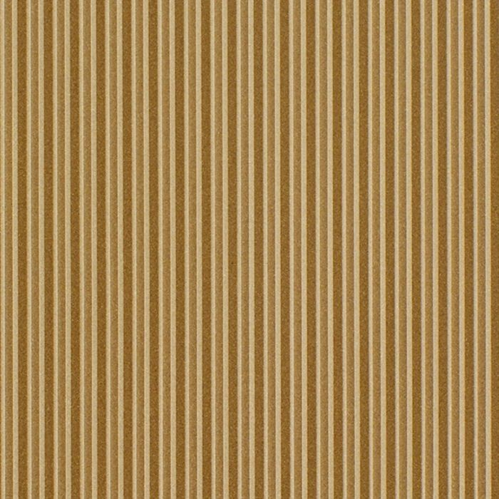FlexLam 3D Wall Panel | 4ft W x 10ft H | Ridges Pattern | Argent Gold Finish
