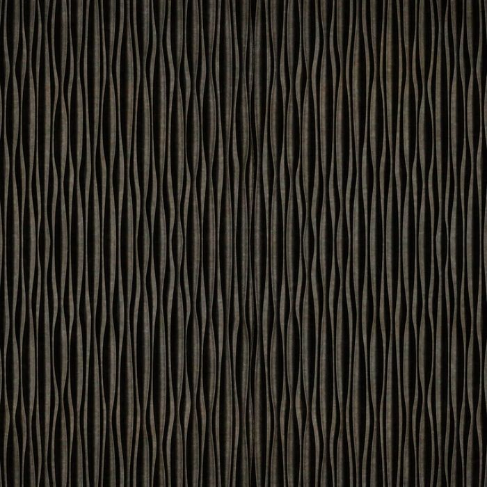 10' Wide x 4' Long Mojave Pattern Smoked Pewter Vertical Finish Thermoplastic FlexLam Wall Panel