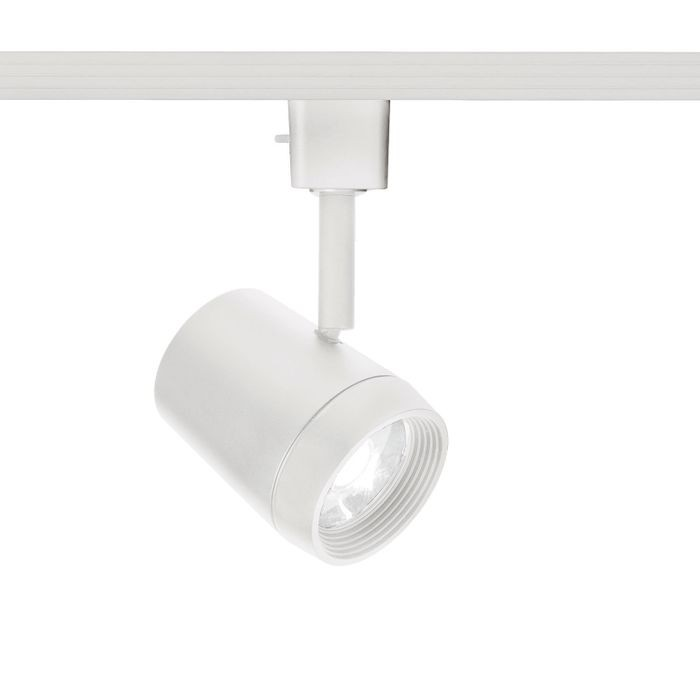 Oculux Led Track Lighting Head Warm White 3000k 11 Watts 890 Lumens Per Fixture Etl 120v In A White Finish