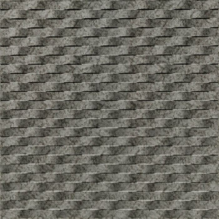 FlexLam 3D Wall Panel | 4ft W x 10ft H | Weave Pattern | Galvanized Finish