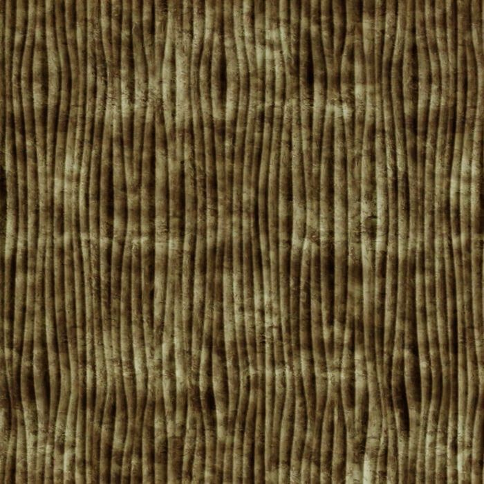 10' Wide x 4' Long Gobi Pattern Bermuda Bronze Vertical Finish Thermoplastic Flexlam Wall Panel