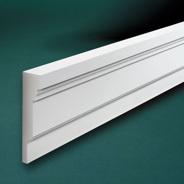 "13"" High x 3-3/8"" Wide Fascia Moulding 8' Length"