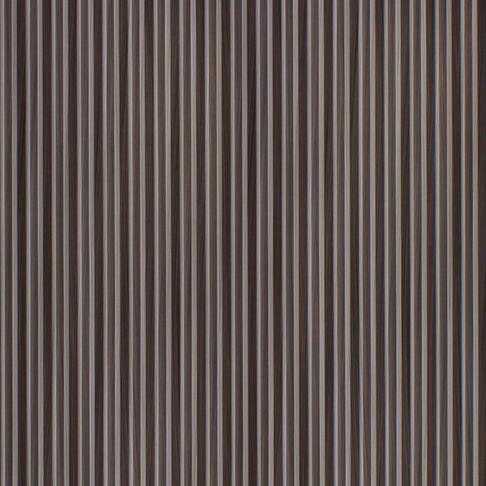 10' Wide x 4' Long Ridges Pattern Bronze Strata Finish Thermoplastic Flexlam Wall Panel