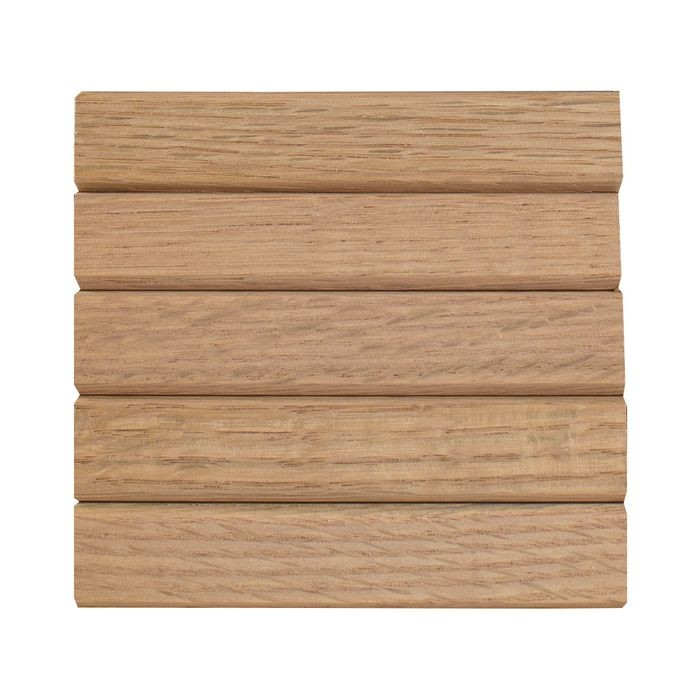 "1' High x 8' Wide x 3/16"" Thick Solid Cherry Tambour with 3/4"" - 60 Degree Grooves"