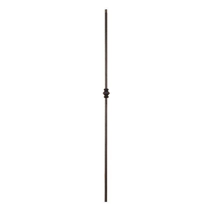 Classic Powder Coated Baluster | Solid | Copper Vein Finish | Knuckles | 1/2in Sq x 44in H | PCB-255 Series
