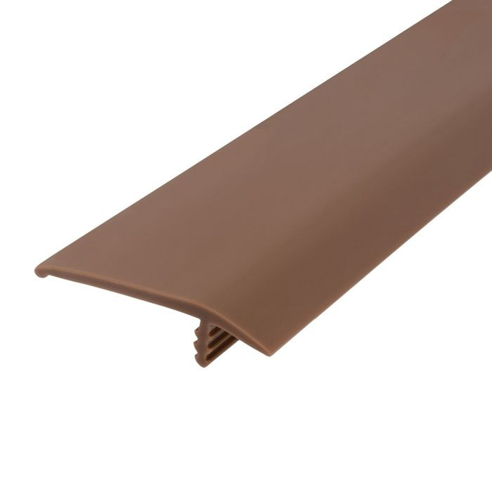 1-1/2in 709 Tan Flexible Polyethylene | OffsetBarb Tee Moulding | 250ft Coil