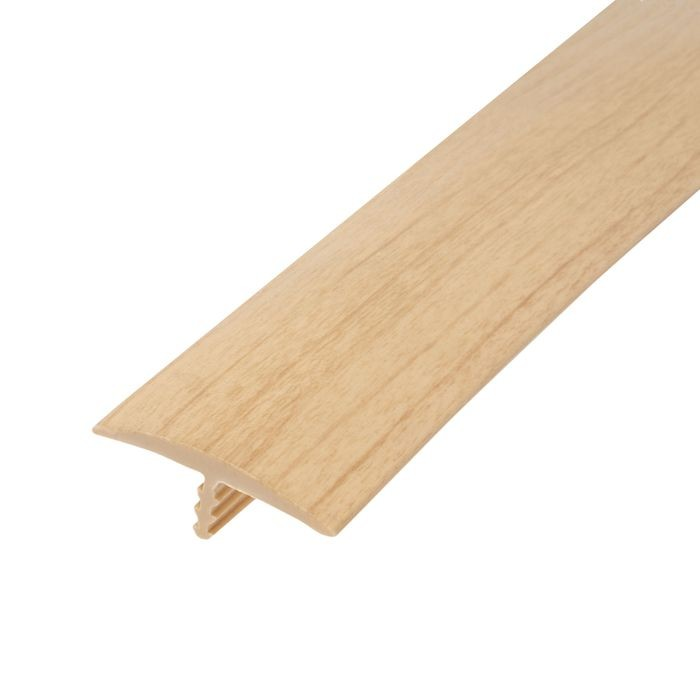 1-1/8in 817P Natural Maple Flexible Polyethylene | Center Barb Tee Moulding | 250ft Coil