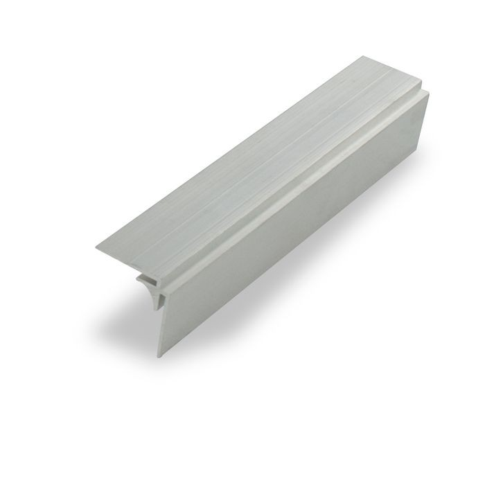 "1/16"" Mill Finish Aluminum 90 Degree Inside Corner Channel 12' Length"