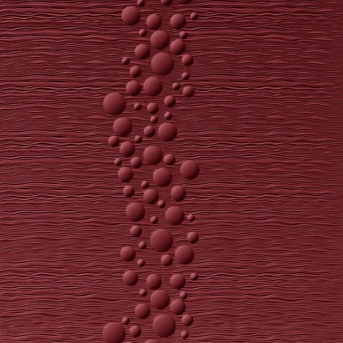 10' Wide x 4' Long Cascade Pattern Merlot Finish Thermoplastic Flexlam Wall Panel