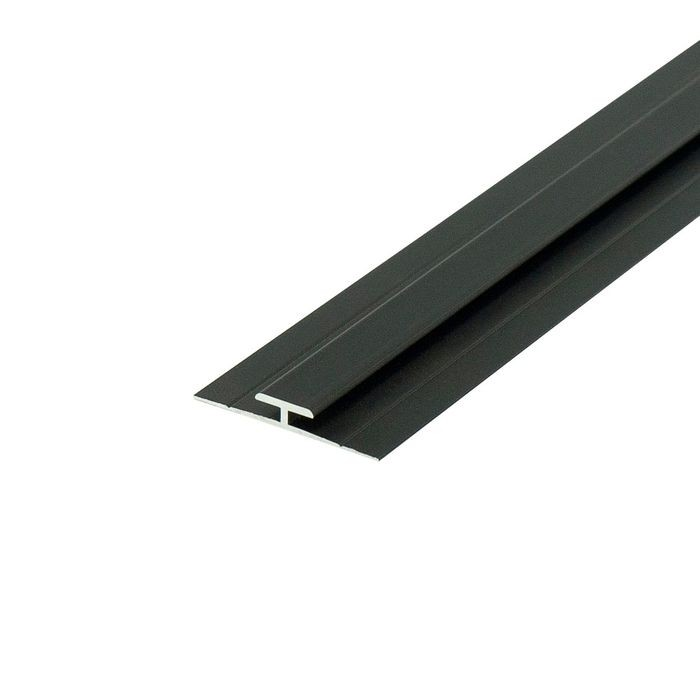 1/16in Oil Rubbed Bronze Finish | Aluminum Divider Moulding | 12ft Length