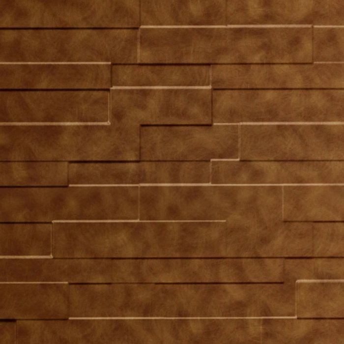 10' Wide x 4' Long Tetrus Pattern Antique Bronze Finish Thermoplastic Flexlam Wall Panel