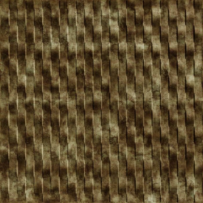 10' Wide x 4' Long Weave Pattern Bermuda Bronze Vertical Finish Thermoplastic Flexlam Wall Panel