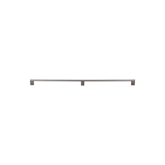 "Princetonian Bar Pull 2 X 15 1/16"" Brushed Satin Nickel (3 Posts)"