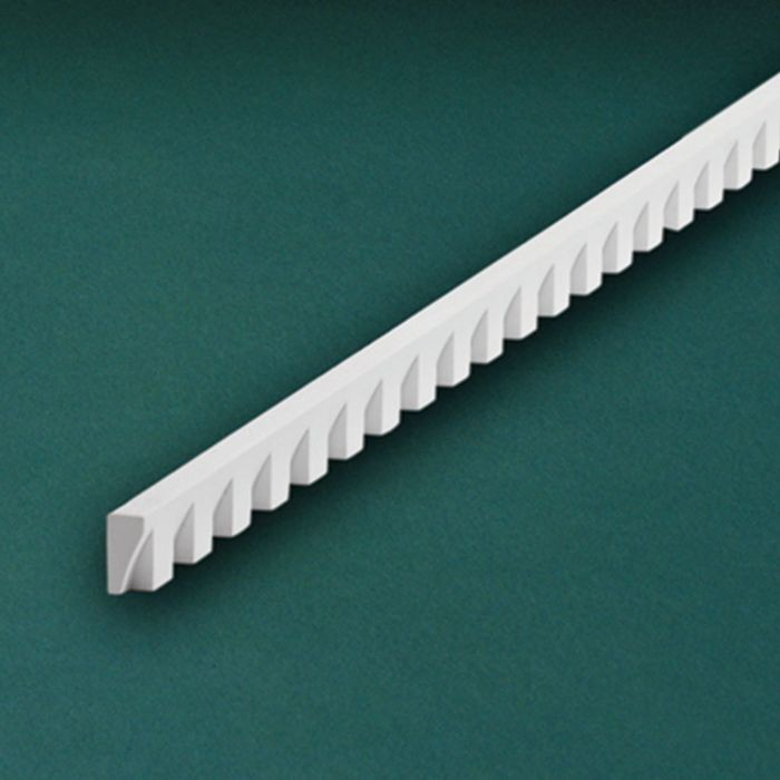 "1-1/4"" High x 5/8"" Wide Small Dentil Moulding 5' Length"