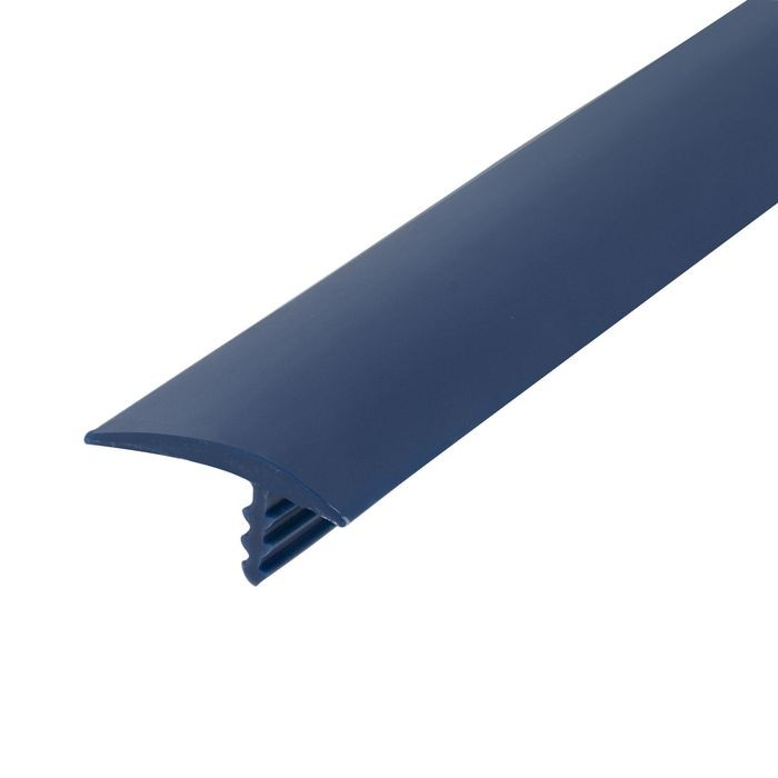 13/16in 131 Blue Flexible Polyethylene | OffsetBarb Tee Moulding | 250ft coil