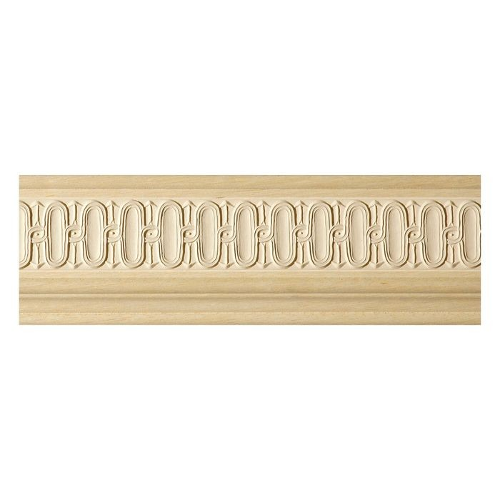 3-3/4in H x 3/4in Proj | Composite Wood | Frieze Molding 8ft Long