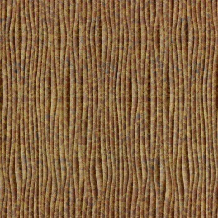 10' Wide x 4' Long Gobi Pattern Cracked Copper Vertical Finish Thermoplastic Flexlam Wall Panel