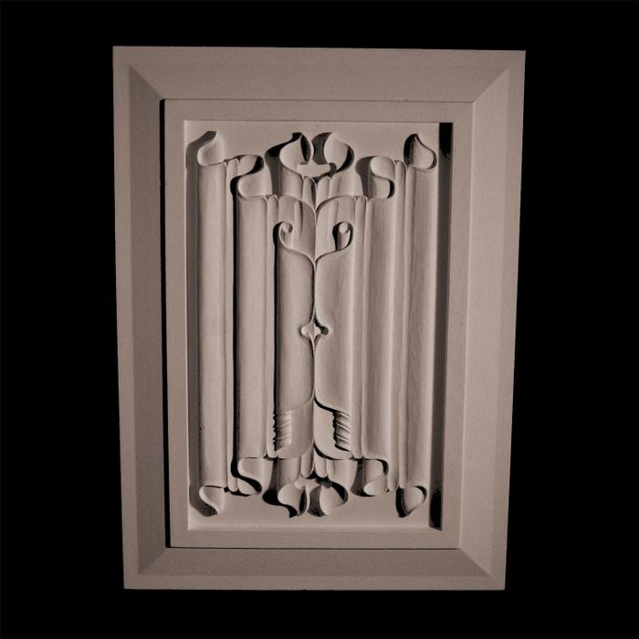 "14-1/4"" Wide x 23-7/8"" High Unfinished Polymer Resin Panel"