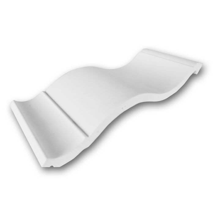 Orac Decor | High Density Polyurethane Foam Crown Moulding | Primed White | 4in Sample Piece | C335 Series