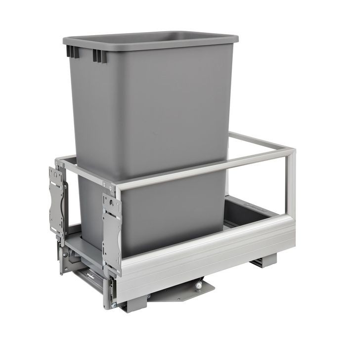 Single Door Mount Rev A Motion Waste Container
